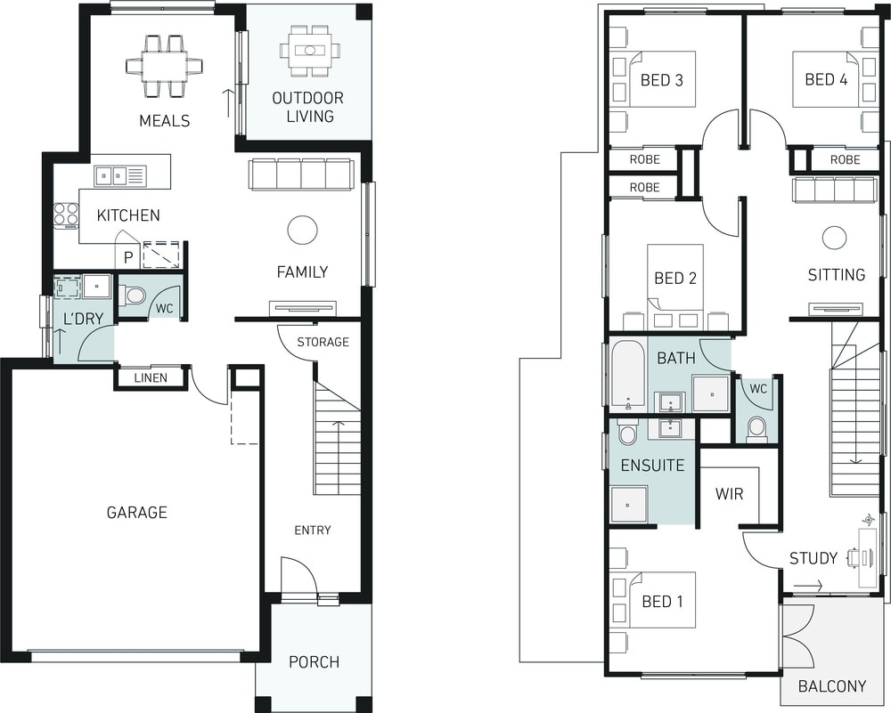 Orbit Homes New Home Plans hamilton STUDIO DS 220 floorplan